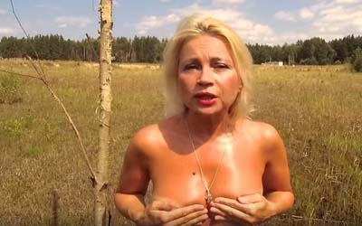 Актриса Нечаева голой грудью пробила дорогу в депутаты (ВИДЕО)