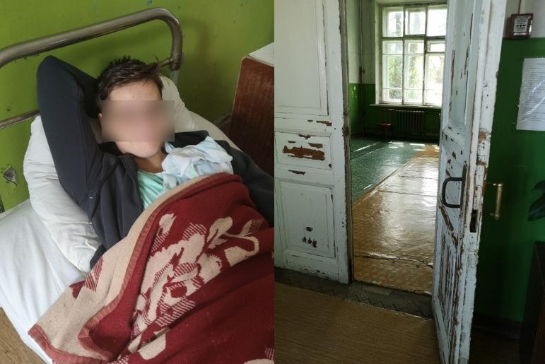 Это точно не африканская деревня?: больница в Вышнем Волочке шокировала семью из Финляндии
