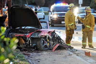 Актер из форсажа разбился на машине