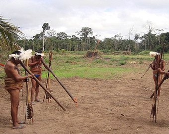 """В джунглях Амазонии живет племя, которое не знает, что такое """"время"""" и """"возраст"""""""