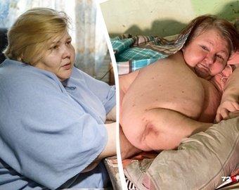 Самая толстая россиянка обратилась на видео к 300-килограммовой тюменке