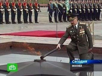В Москве зажгли второй Вечный огонь