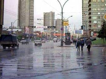 В Москву идут дожди и заморозки