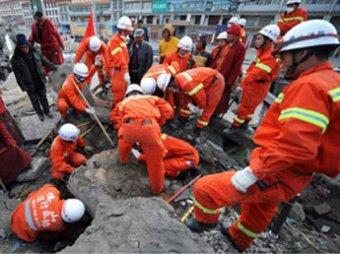 Число жертв землетрясения в Китае перевалило за 1,7 тысяч человек
