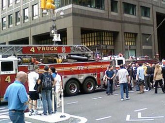 В центре Нью-Йорка произошел мощный взрыв