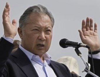 Бакиев высылал в Бишкек по факсу заявление о своей отставке
