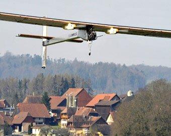 Solar Impulse успешно прошёл испытания в Швейцарии