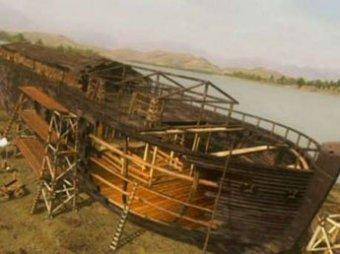 Китайцы нашли Ноев ковчег