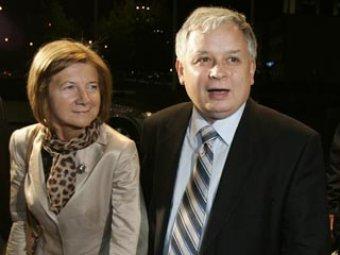 Под Смоленском разбился самолет с президентом Польши Лехом Качиньским