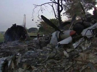 На Филиппинах разбился самолет с россиянами на борту