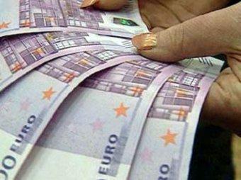 Евро упал ниже 39 руб
