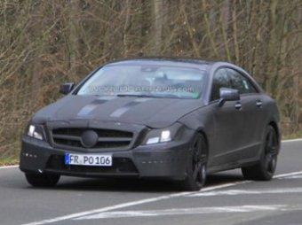 Появились новые снимки Mercedes-Benz CLS следующего поколения