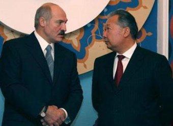 Лукашенко приютил Бакиева