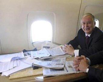 При разборе места авиакатастрофы под Смоленском россияне могли найти секретные документы
