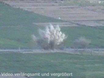 """""""Аль-Каеда"""" обнародовала видео с подрывом немецкого бронетранспортера"""