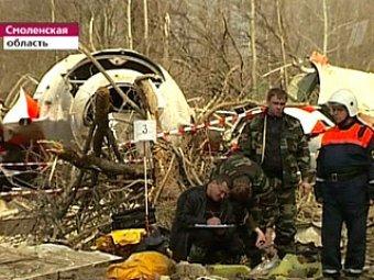В кабине разбившегося Ту-154 Леха Качиньского находился посторонний