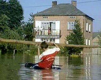 Наводнение на востоке Европы не утихает
