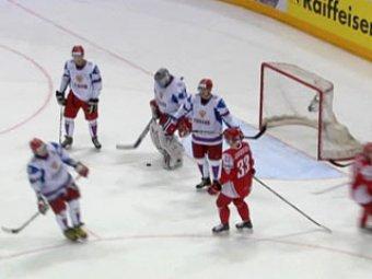 Россия разгромила Данию на ЧМ по хоккею