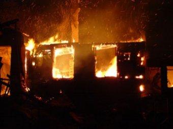 Грабители сожгли заживо ветерана войны