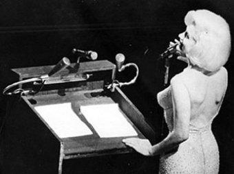 Обнародован единственный совместный снимок Монро и Кеннеди