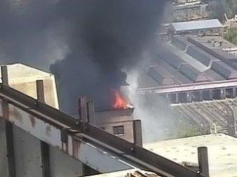 Пожар в КБ на севере Москвы: присвоена высшая категория сложности