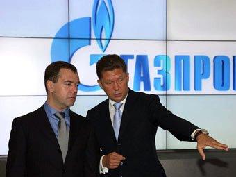 Медведев дал поручение сократить поставки газа в Белоруссию