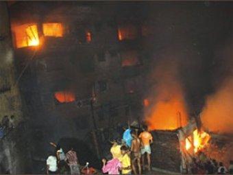 В Бангладеш заживо сгорели более 100 человек