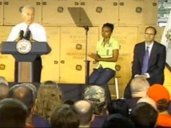 Глава General Electric упал в обморок, послушав вице-президента США Джо Байдена