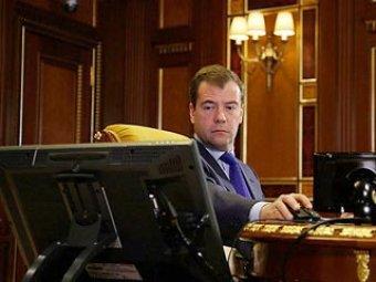 У Медведева в Twitter появился пародийный двойник