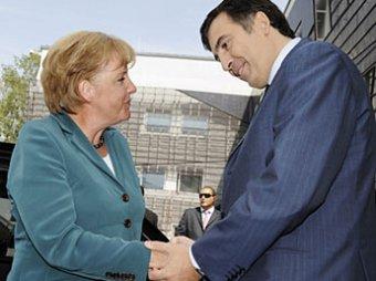 Меркель провела ночь в грузинской кутузке