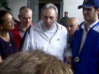 Фидель Кастро впервые с 2006 года появился на публике