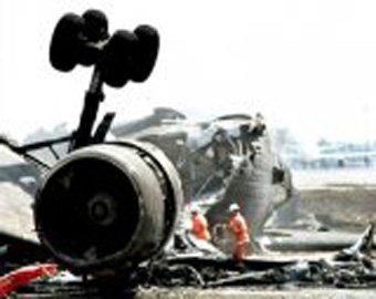 """Самолет авиакомпании """"Люфтганза"""" разбился в аэропорту Эр-Рияда"""