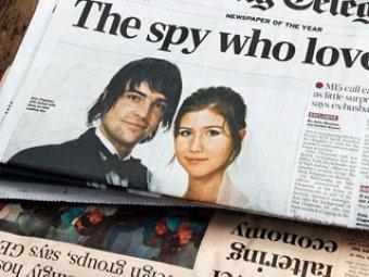 СМИ: Анна Чапман искала знакомство с британскими принцами
