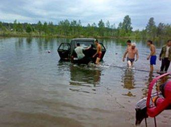 В Иркутске дети погибли в утонувшем автомобиле