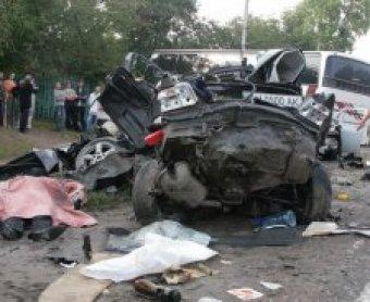 В Полодьске столкнулись 10 автомобилей: двое погибших, пятеро раненых