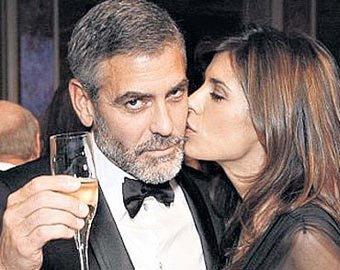 Джордж Клуни и его подруга попались в полицейские сводки