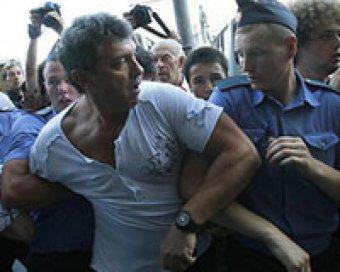 В Москве задержан Борис Немцов
