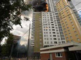 Пожар на востоке Москвы: пострадали 8 человек