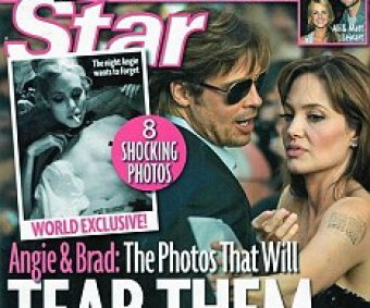 Журналисты раскопали снимки голой и обкуренной Анджелины Джоли