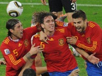 В ЮАР обокрали футболистов сборной Испании