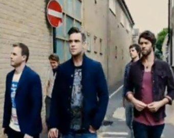 Робби Уильямс вернулся в группу Take That