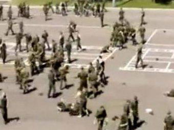 В войсковой части под Москвой произошло массовая драка на национальной почве