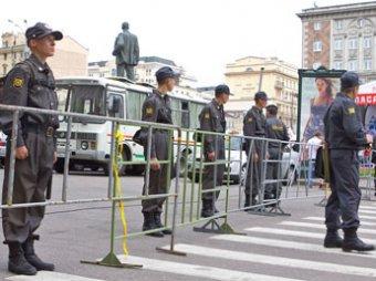 Триумфальную площадь в Москве закрывают для всех политических сил