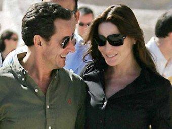 СМИ: Саркози публично устроил Бруни сцену ревности