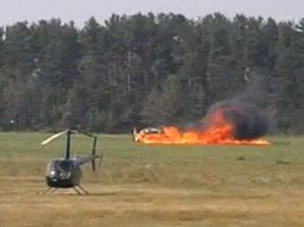 Под Минском разбился 74-летний немецкий летчик