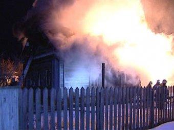 При пожаре в Подмосковье погибли пять человек