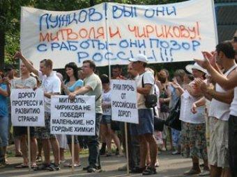 Жителей Химок угрозами заставляют поддержать вырубку Химкинского леса