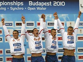 Мужская сборная России выиграла золото в эстафете