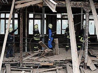 В Петербурге обрушился восьмиэтажный дом