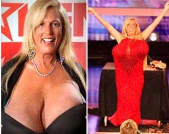 Звезда шоу «Суперталанты» разбивает грудью арбузы
